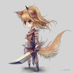 Little Warrior by Landylachs