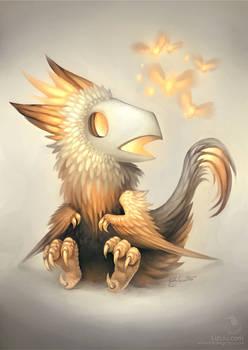 The Lion-Maned Skullbird