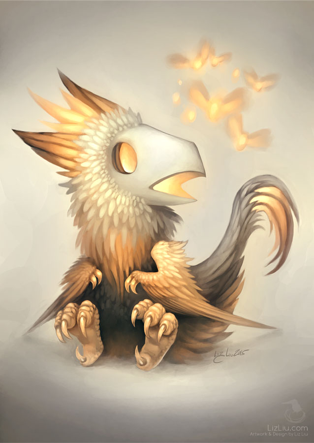 The Lion-Maned Skullbird by Landylachs