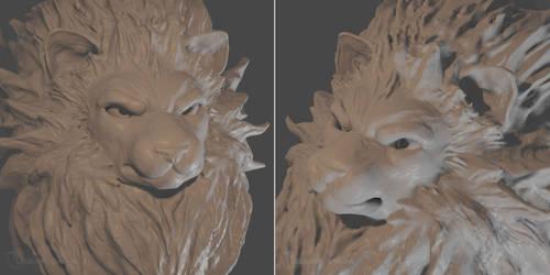Lion Practice Sculpt