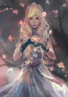 Paintober Day 10: Plum Blossom
