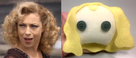 Heads - River Song - Byzantium by PlushieOnTheSun