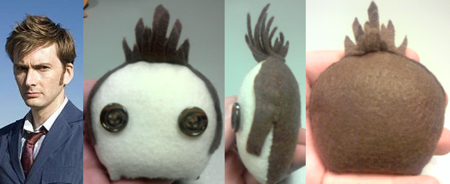 Heads - Tenth Doctor by PlushieOnTheSun