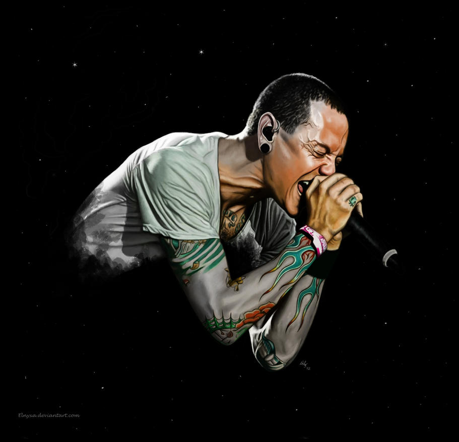 Chester Bennington By Elnyxa On DeviantArt