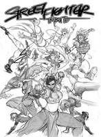Steet Figther Tribute Lineart