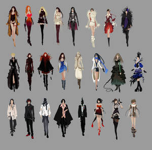 APB Fashion Sketches