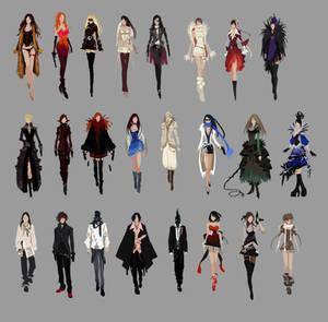 APB Fashion Sketches