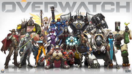 Overwatch Lineup by arnistotle