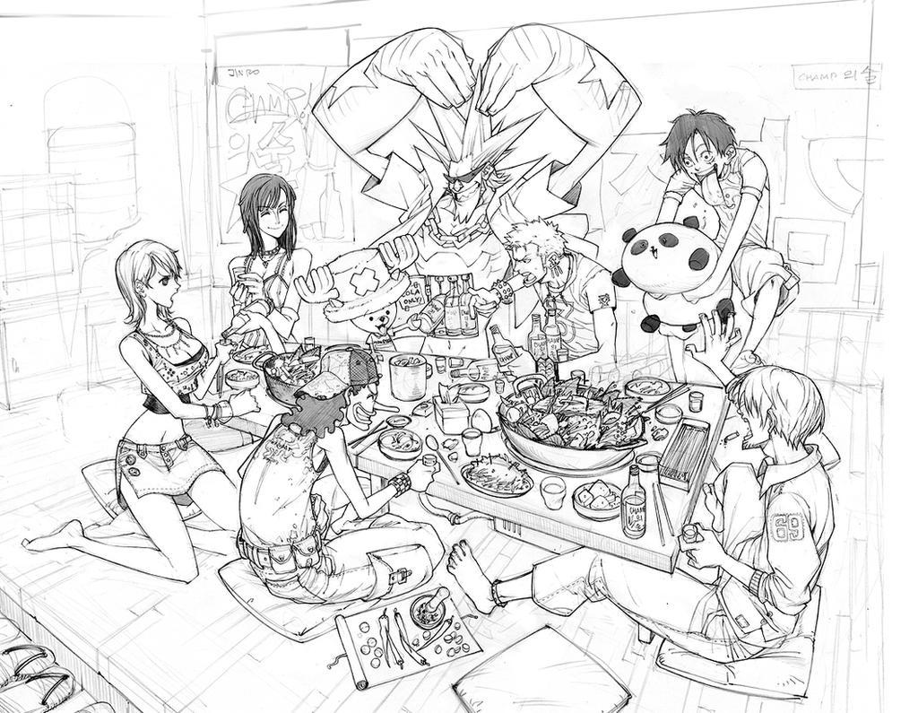 One Piece Fanart by arnistotle