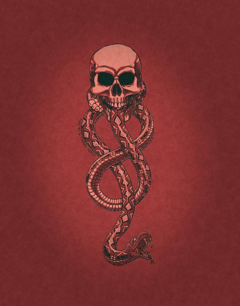 Drawloween Day 20 - Skull  by DangerPins