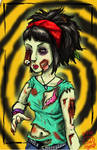 Nelly Zombified by DangerPins