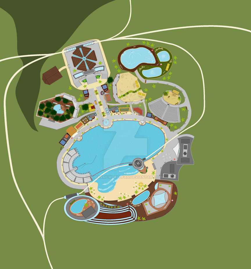 Jurassic World Lagoon By Jurassicworldfan On Deviantart