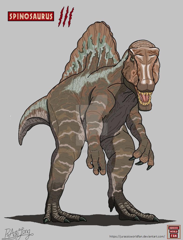 Jurassic park 3 spinosaurus by jurassicworldfan on deviantart - Spinosaurus jurassic park ...