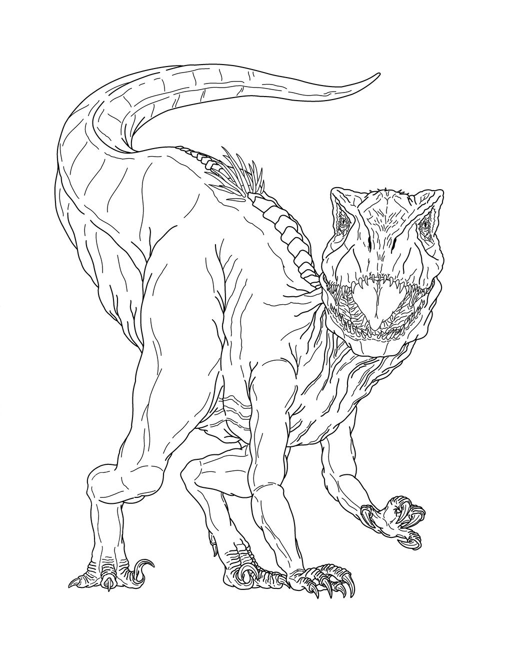 Jurassic World - Dr. Wu GIVEAWAY | Dinosaur coloring pages, Lego ... | 1343x1024
