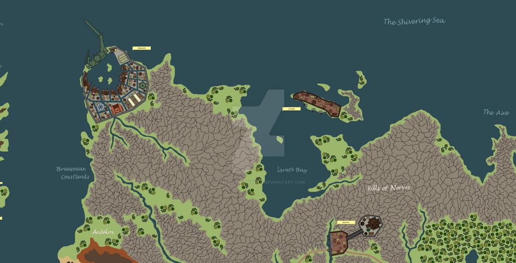 Essos Map: Braavos Lorath Norvos by JurassicWorldFan on ...