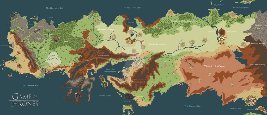 Essos Map by JuricWorldFan on DeviantArt on
