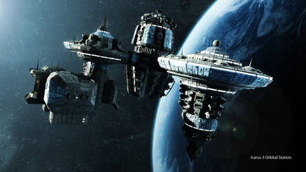 Icarus Orbital Station (4k)