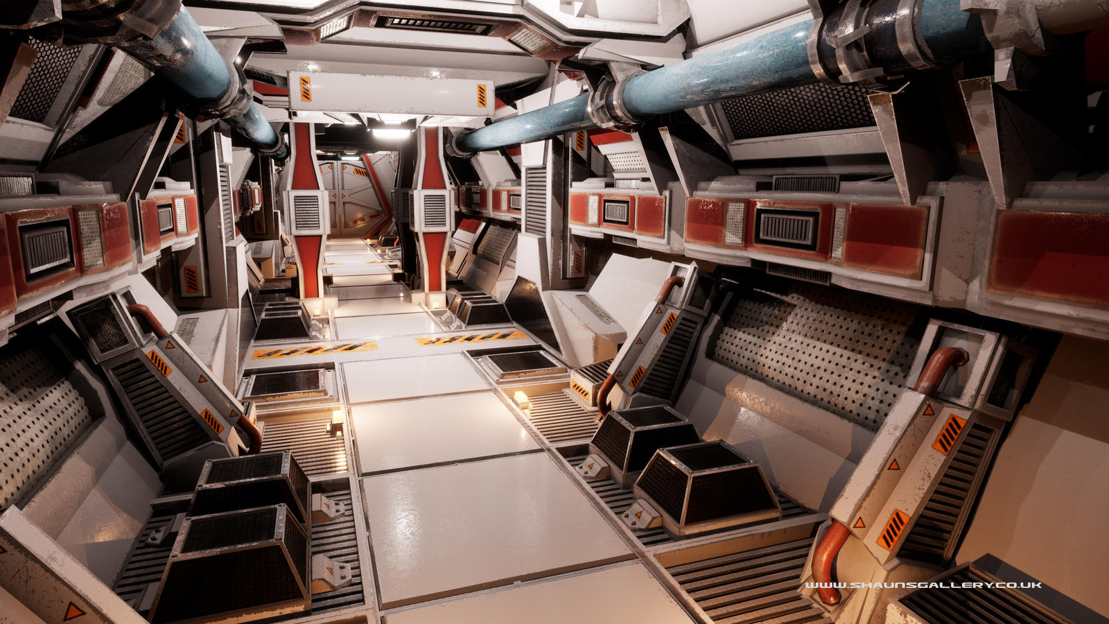 Low poly Sci-fi Environemnt by madaboutgames
