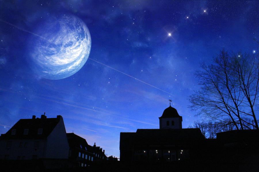 Dreamy sky by Dreamerer