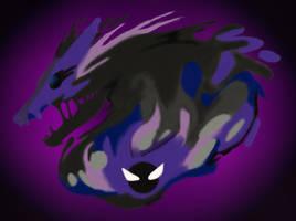 Gastly Dragon by Gypsy-puma
