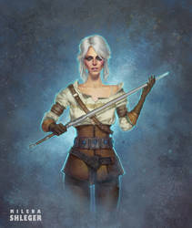 Ciri fanart | The witcher 3 by Shleger
