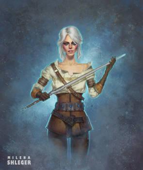 Ciri fanart | The witcher 3