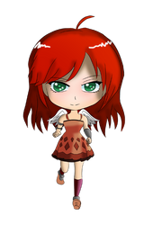 Amreen Chibi WalkCycle Frame1 by Doh042