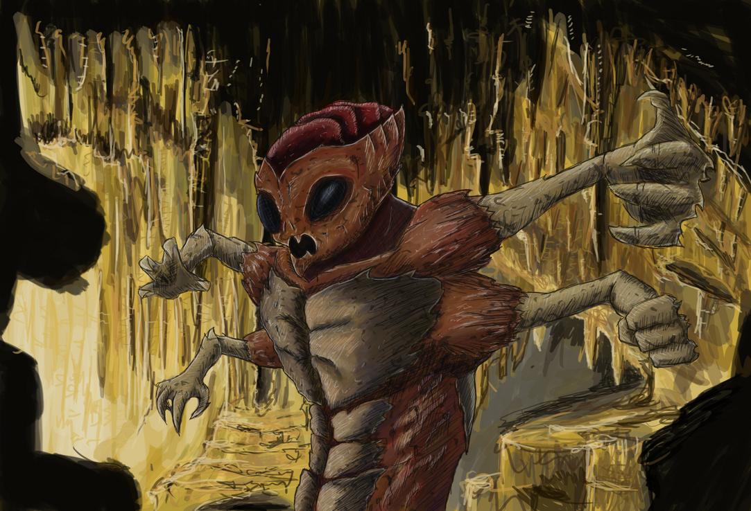 Humanoid Bug by Jundallah