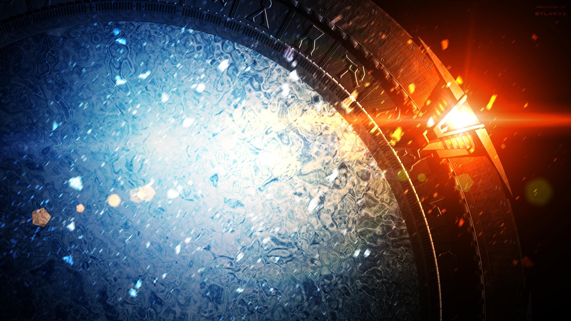Night Wallpaper No Logo By Ualgreymon On Deviantart: Stargate SG-1 Title Wallpaper (No Logo Version) By SYL4R32