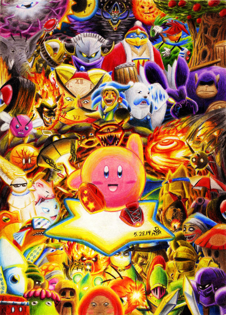 Kirby - Nightmare in Dreamland by BrokenHAX