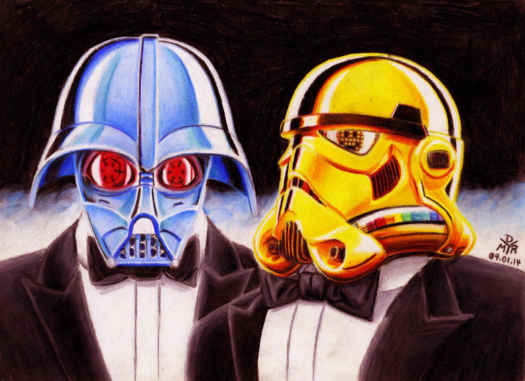 Daft Vader by BrokenHAX