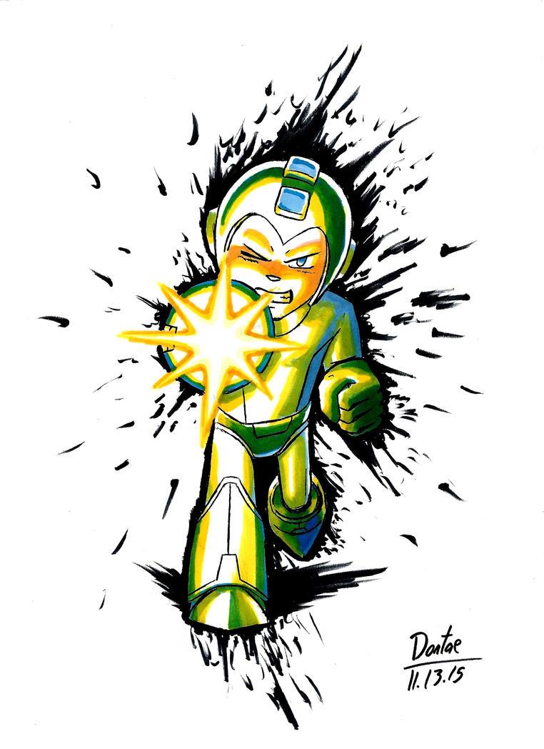 Megaman by BrokenHAX