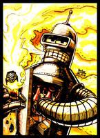 Bender! - #16DailyDraw