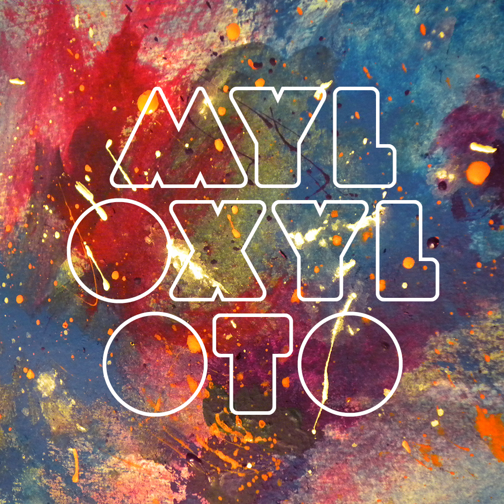 Coldplay Mylo Xyloto Album Cover
