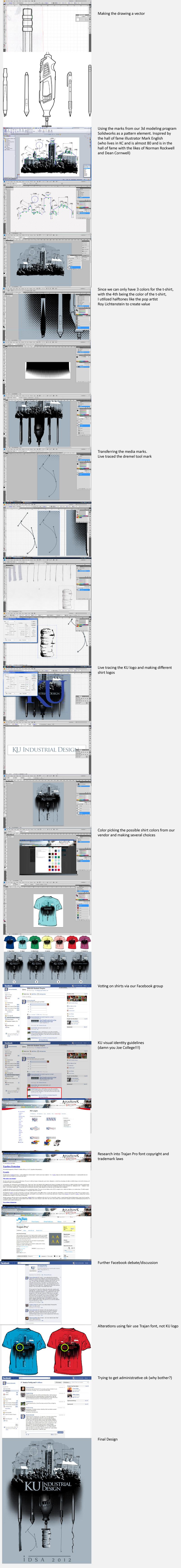 2012 KU IDSA shirt process 2 by dkdelicious