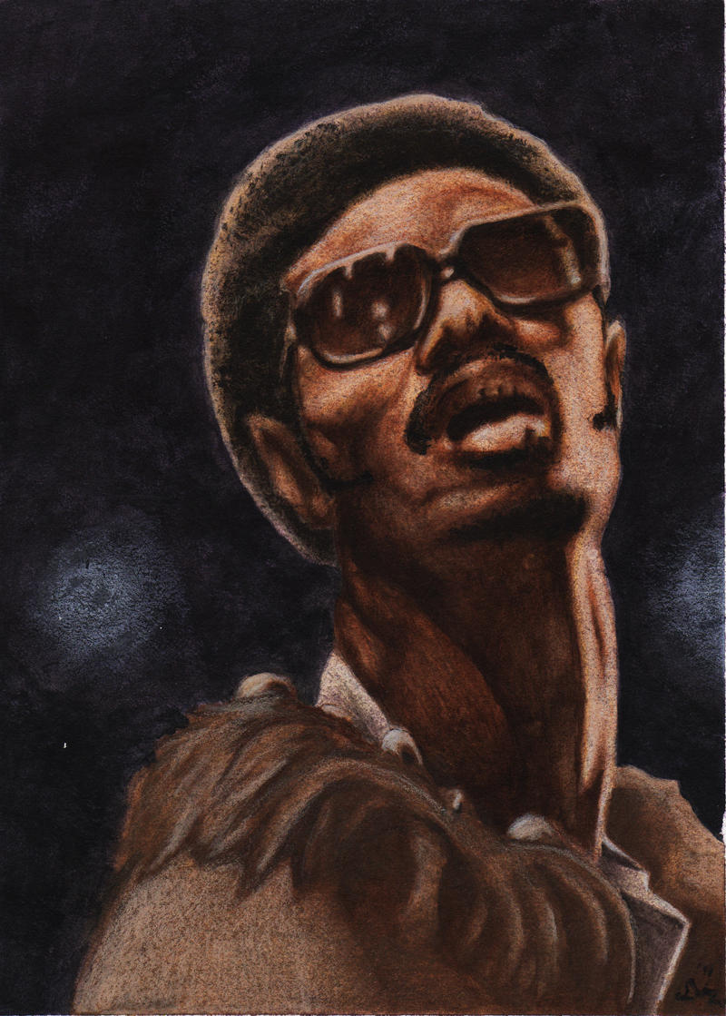 70s Stevie Wonder Essence by dkdelicious