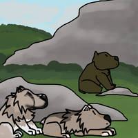 Bear Hunt 2 :: Harlow/Turtle :: Tokotas