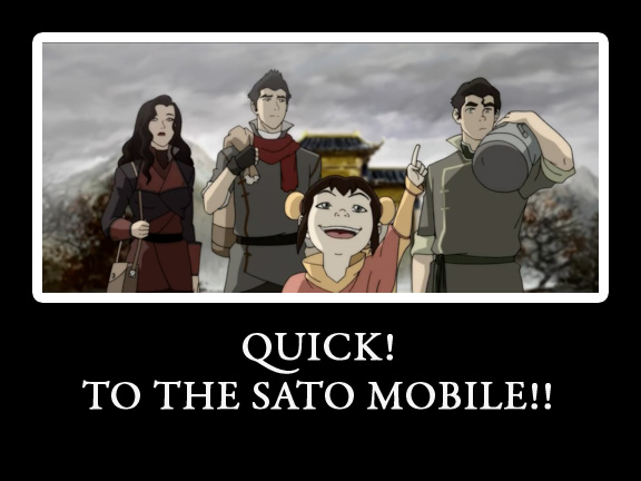 LOK- TO THE SATO MOBILE by KigenNaiteiru