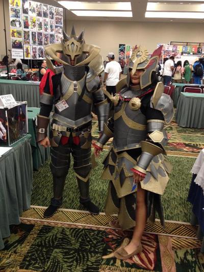 Monster Hunter Damascus Armor Sets by KigenNaiteiru