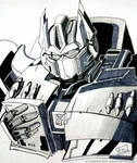 Optimus Prime - Inktober Day8