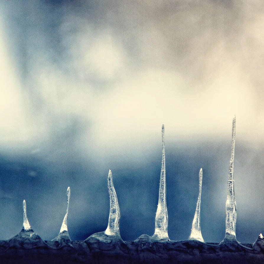 ice towers. by KatherineZe