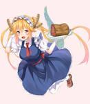 Maid Dragon Tohru