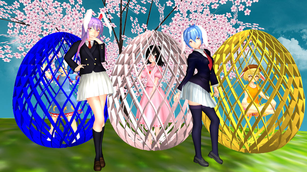 [MMD] Easter Rabbit by Totalheartsboy