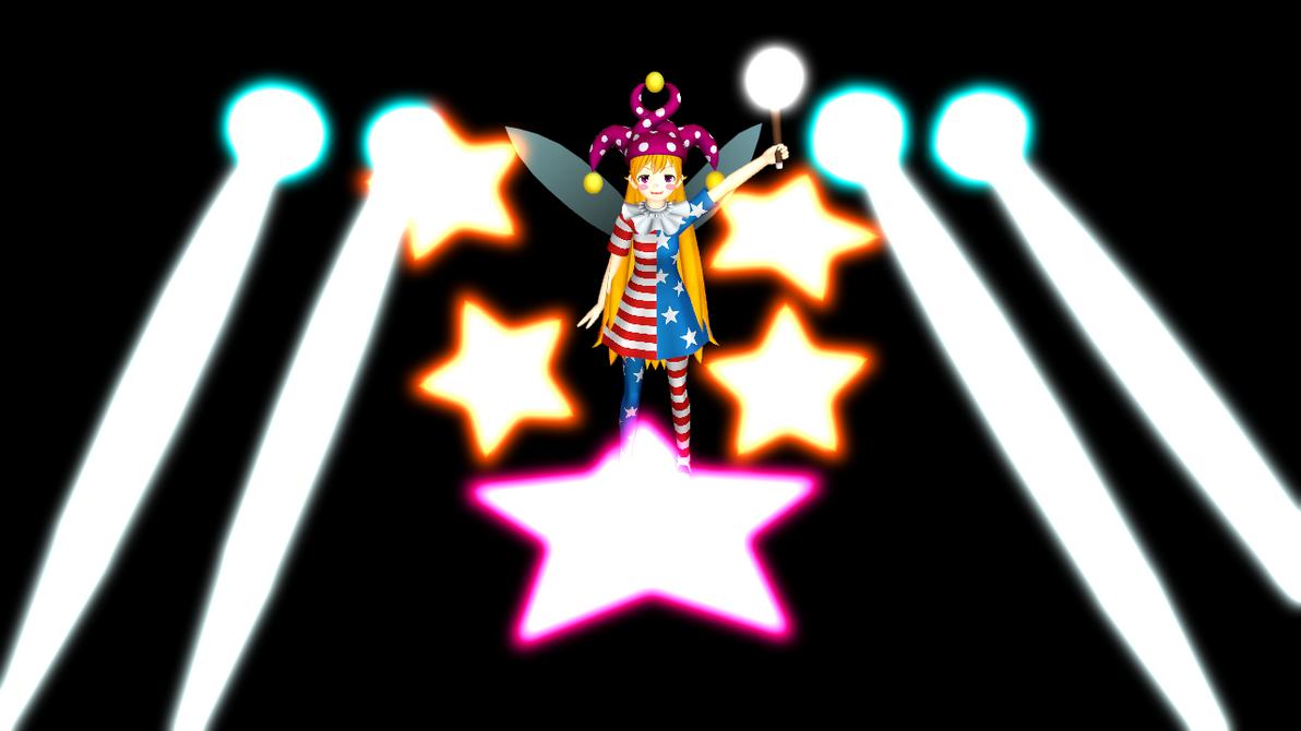 [MMD] Clownpiece's Danmaku by Totalheartsboy