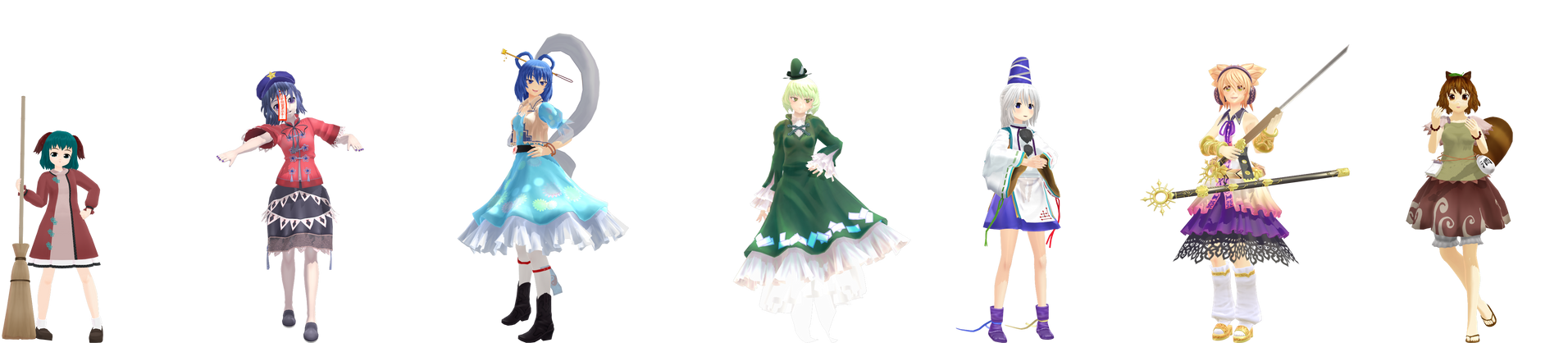 [MMD] TD Crew by Totalheartsboy
