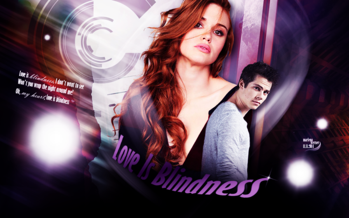 Holland Roden Dylan O Brien Love Is Blindness By