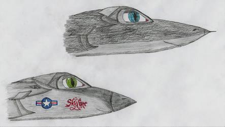 Skyfire: Paige and Ben as Avantas