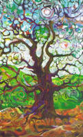 The Dancing Tree by chesya