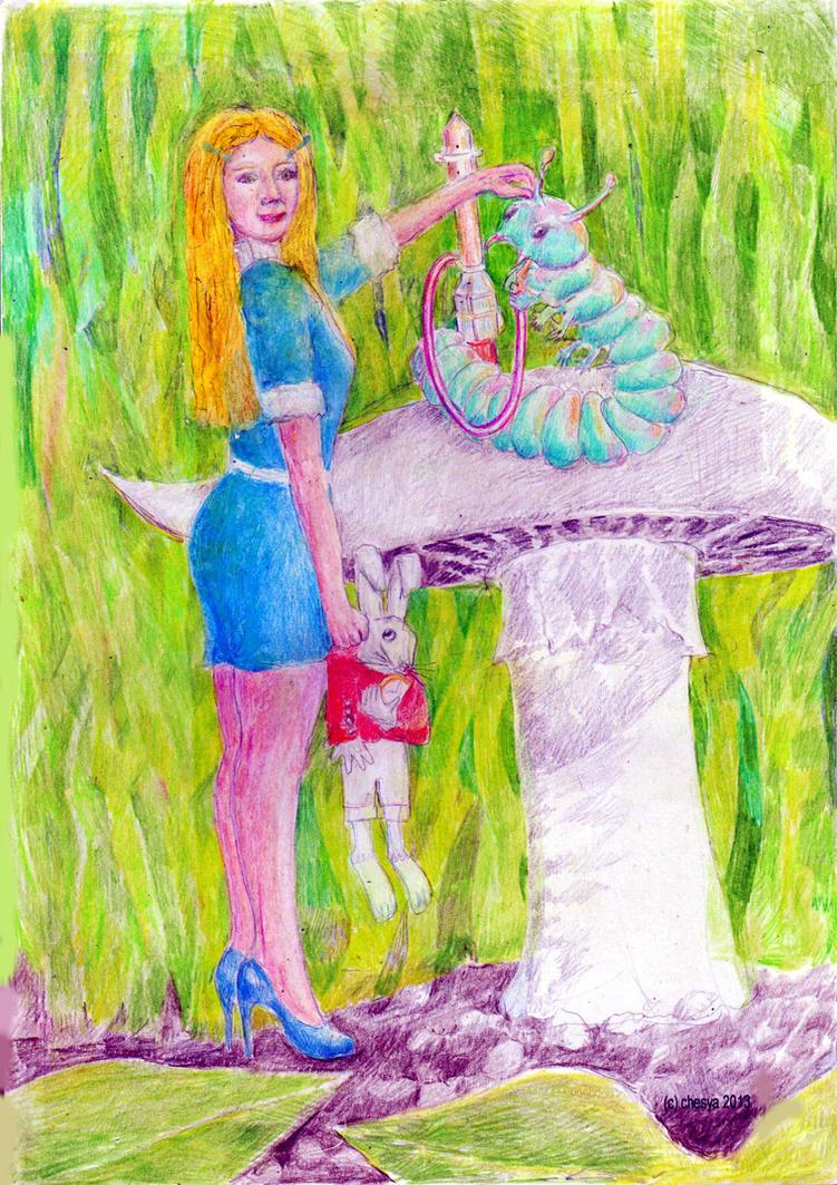Stepford Wonderland by chesya