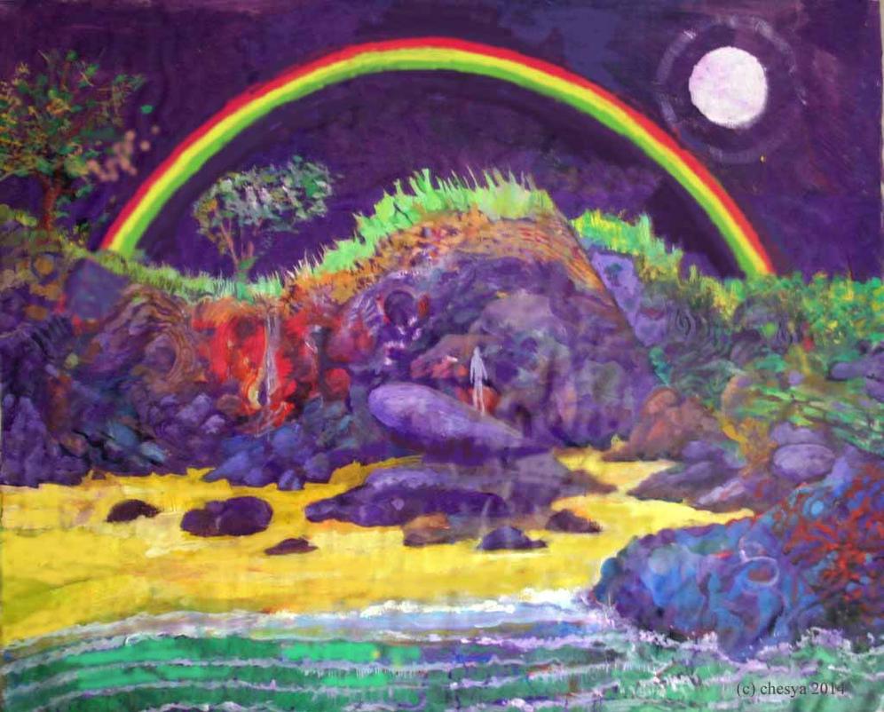 Ghost Rainbow by chesya